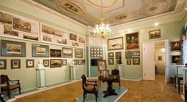 Государственный музей Л. Н. Толстого - у метро Парк культуры