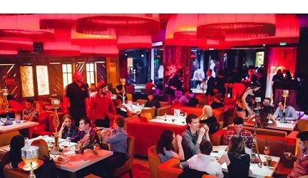 Ресторан Shishas Sferum Bar на Новом Арбате, метро Смоленская.