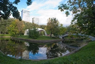 Парк Красная Пресня, метро Выставочная