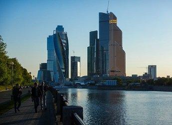 Набережная Тараса Шевченко, прогулки по Москве