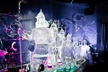 Галерея русской ледовой скульптуры, станция метро Выставочная