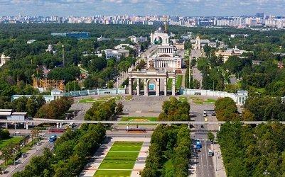 Выставка достижений народного хозяйства располагается в Останкинском районе Северо-Восточного округа Москвы.