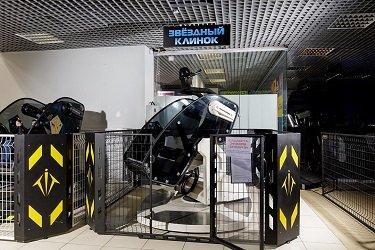 Интерактивный скалодром Skala от Arena Space