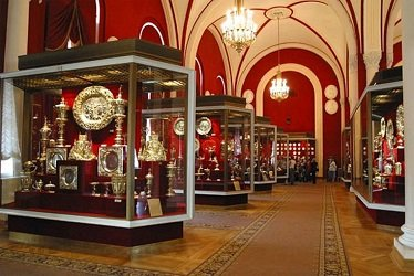 Музей Оружейная палата в Кремле.