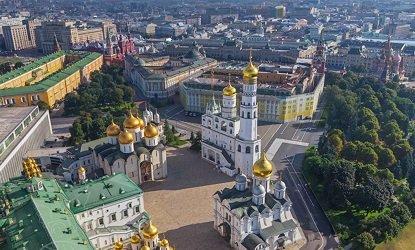 Соборная площадь в Кремле.