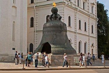 Царь-Колокол в Кремле.
