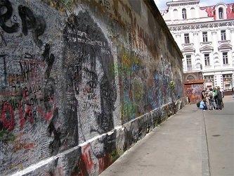 Москва - стена Цоя на Арбате.