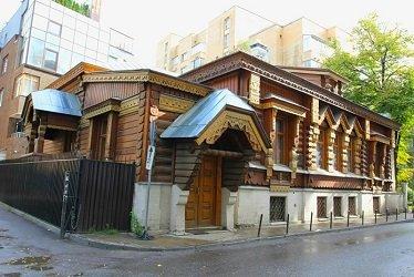 Дом Пороховщикова в Староконюшенном переулке в Москве.