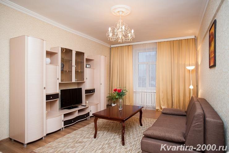 Снять двухкомнатную квартиру м. Павелецкая на сутки