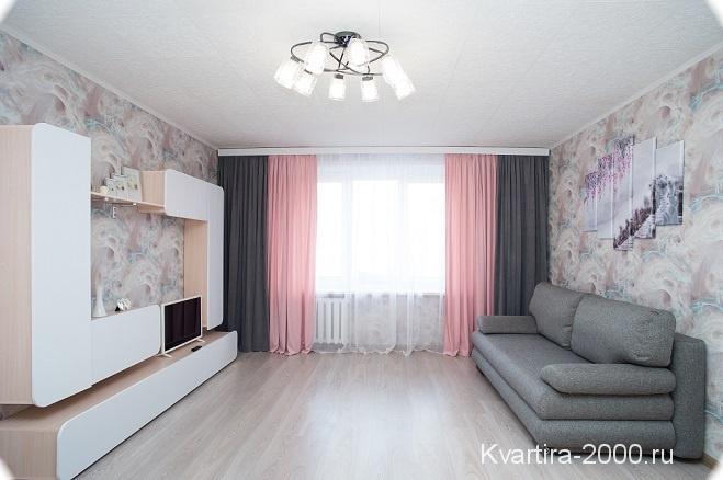 Двухкомнатная квартира на сутки м. Проспект Мира по цене 3500 рублей
