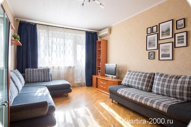 Двухкомнатная квартира рядом с м. Славянский бульвар
